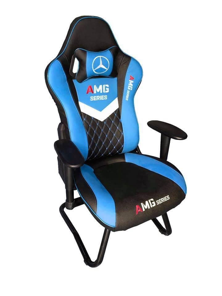 Ghế game AMG - màu xanh mẫu mới nhất 2019