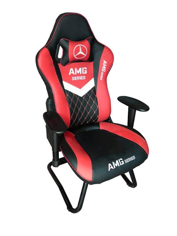 Ghế game AMG - màu đỏ mẫu mới nhất 2019